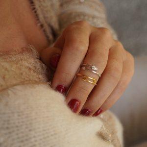 pierścionek strzała_boho_permane bizuteria 3