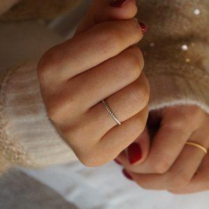 pierścionek sznur_boho_permane bizuteria 2