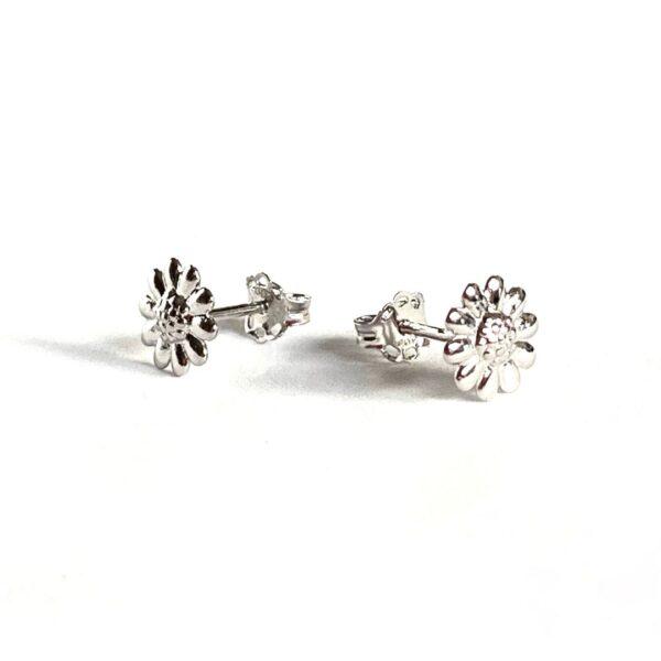 Kolczyki sztyfty stokrotki kwiatki – kamini – permane bizuteria9